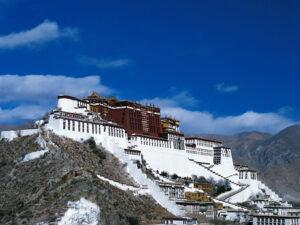Tibet's capital Lhasa.