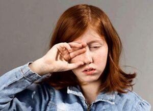 Dry Eyes Effect