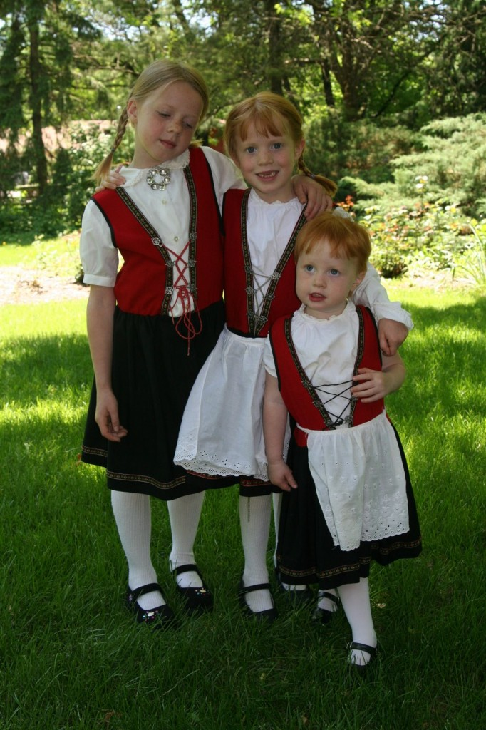 Norwegian Little Girls