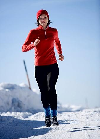 Young Lady Jogging